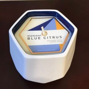 NEW BATH & BODY WORKS MIDNIGHT BLUE CITRUS CANDLE